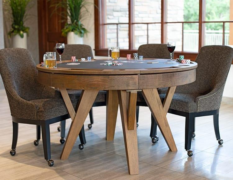 Presidential Tyler Poker Table