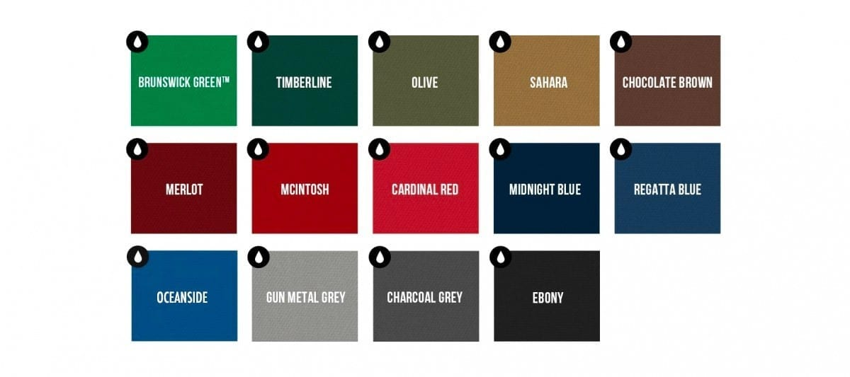 Brunswick Centennial Cloth Options