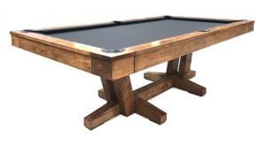California House Petaluma_pool_table_light