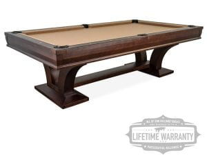 Hamilton pool table with warranty