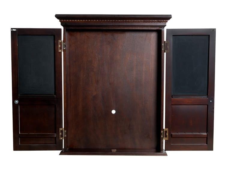 Presidential-Classic-Dartboard-Cabinet-Open