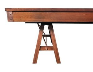 Presidential Johnson Pool Table Side View