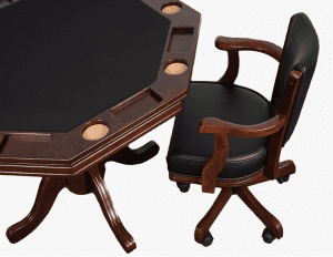 Presidential Octagon Poker Table and Chair