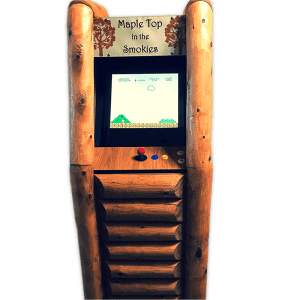 Upright Log Arcade Main
